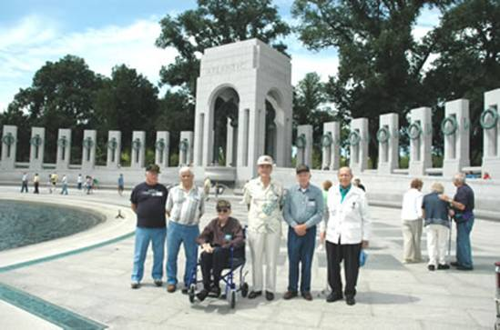 World War II Veterans Honored At Ceremony (NPS Photo by Terry Adams)